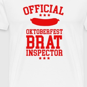 Official Brat Inspector - Men's Premium T-Shirt