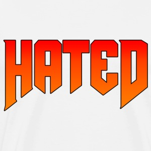 Hated Flame Logo - Men's Premium T-Shirt