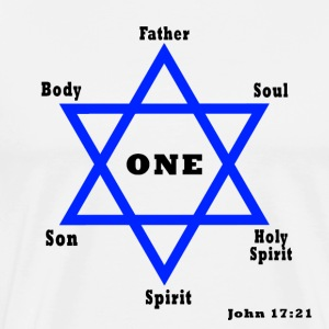 One Star of God - Men's Premium T-Shirt