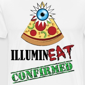 Illuminati / IlluminEAT CONFIRMED! - Men's Premium T-Shirt