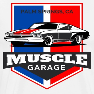 Muscle Car Garage - Men's Premium T-Shirt
