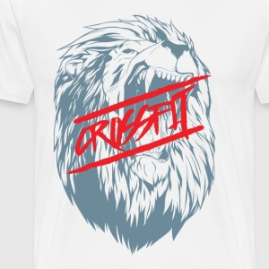 Crossfit Lion - Men's Premium T-Shirt