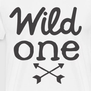 Baby Boy Clothes Wild One Birthday Boy Wild One Sh - Men's Premium T-Shirt