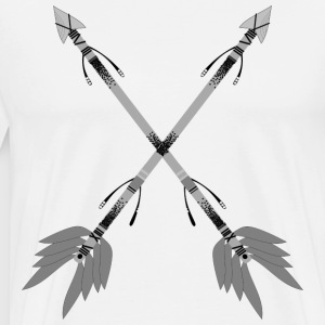 ethno arrow - Men's Premium T-Shirt