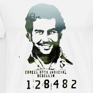 Narcos Fan Design – Pablo Escobar - Men's Premium T-Shirt