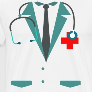 Funny Halloween Doctor Nurse Costume Men Women Kid - Men's Premium T-Shirt