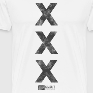 X by Silent Streetwear™ - Men's Premium T-Shirt