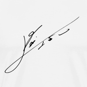 Messi's signature. - Men's Premium T-Shirt