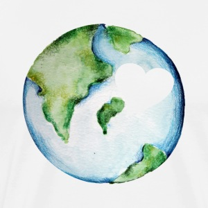Earth day love - Save our planet - Men's Premium T-Shirt