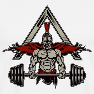 Spartan Weight Lifter - Perfect Gift For Gym Rats - Men's Premium T-Shirt