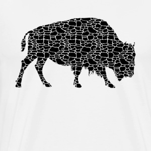 Bison Tee Shirt - Men's Premium T-Shirt