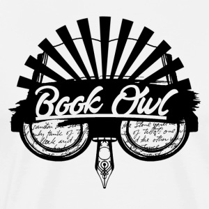 Book Owl - Men's Premium T-Shirt
