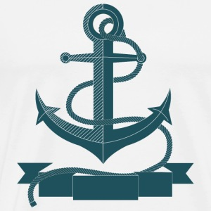 Anchor design - Men's Premium T-Shirt