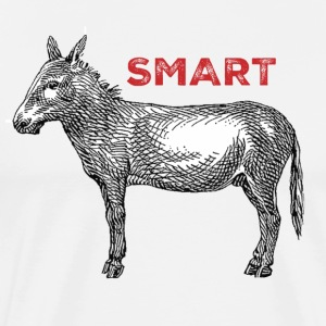 smart ass - Men's Premium T-Shirt