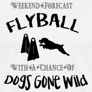 Flyball Weekend Forecast - Men's Premium T-Shirt