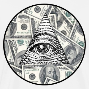 Amazing ILLUMINATI store all seeing eye logo! - Men's Premium T-Shirt