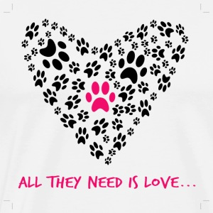 All they need is love - Men's Premium T-Shirt