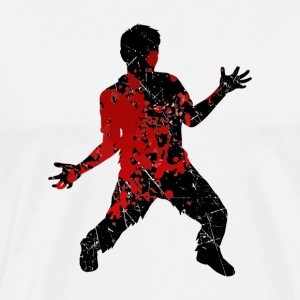 Bloody Zombie - Undead Halloween Blood Monster - Men's Premium T-Shirt