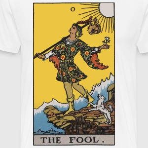 00 the fool color - Men's Premium T-Shirt