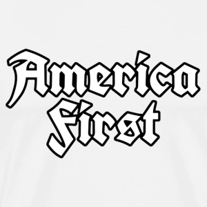 America First - Men's Premium T-Shirt