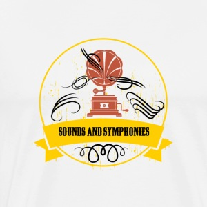 Sounds and symphonies - Men's Premium T-Shirt