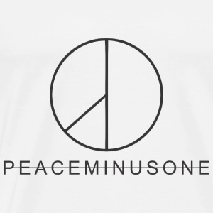 peaceminusone black - Men's Premium T-Shirt