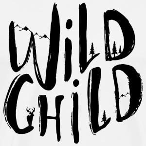 wild child black - Men's Premium T-Shirt
