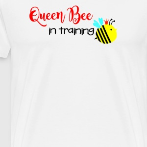 Queen Bee in training - Men's Premium T-Shirt