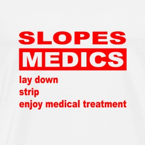 slopes medics - Men's Premium T-Shirt
