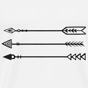 Arrows - Men's Premium T-Shirt