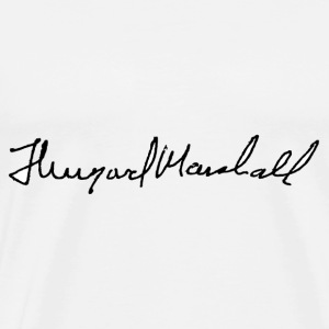 thurgood marshall signature - Men's Premium T-Shirt