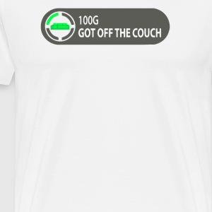 Achievement Unlocked Got Off Couch Video Game - Men's Premium T-Shirt