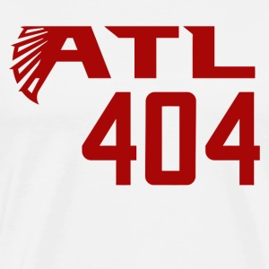 ATL 404 Atlanta Falcons - Men's Premium T-Shirt