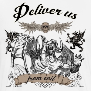 Deliver us from evil - Men's Premium T-Shirt