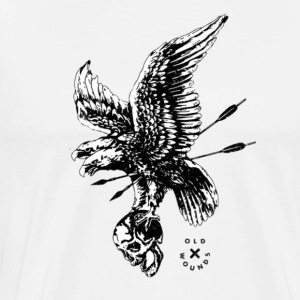 skull and eagle - Men's Premium T-Shirt