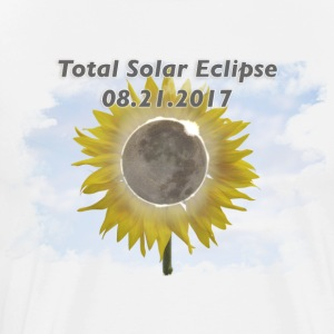 Total Sunflower Eclipse Design 3 - Men's Premium T-Shirt