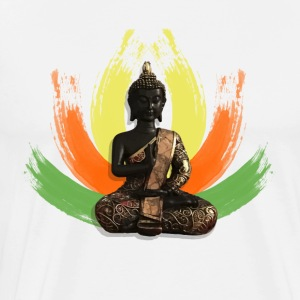 Buddha Lotus - Men's Premium T-Shirt