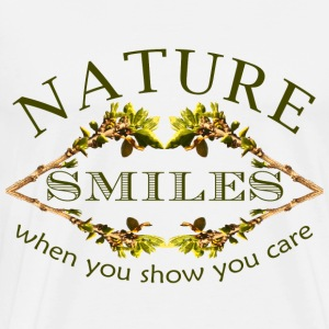 nature smiles - Men's Premium T-Shirt