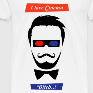 i love cinema... - Men's Premium T-Shirt