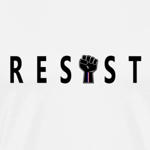 Resist Black Fist - Men's Premium T-Shirt