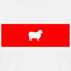 G O A T the Sheep - Men's Premium T-Shirt