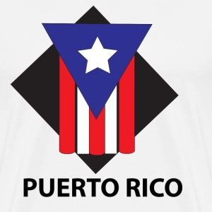 Puerto Rico Flag - Men's Premium T-Shirt