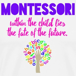 Montessori Future T Shirt - Men's Premium T-Shirt