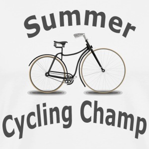 Summer Cycling Champ - Men's Premium T-Shirt