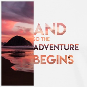 Adventure Begins - Men's Premium T-Shirt