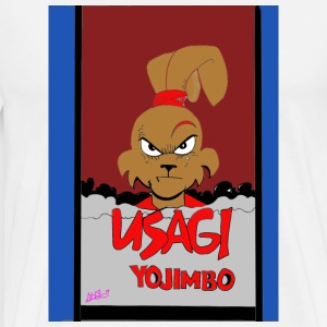 usagi completehoodverison Copy - Men's Premium T-Shirt