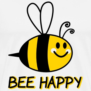 Bee Happy Cartoon