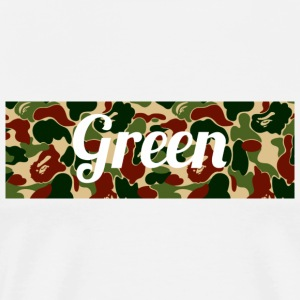 Green supreme Bape camo colorway - Men's Premium T-Shirt