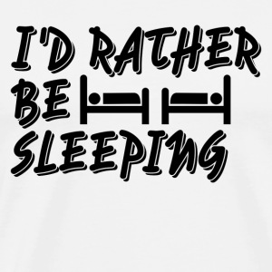 I d rather be sleeping - Men's Premium T-Shirt