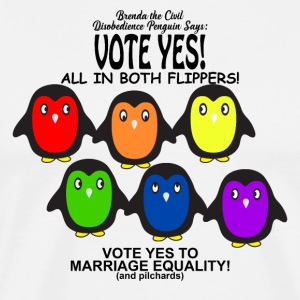 Vote Yes Marriage Equality - Men's Premium T-Shirt